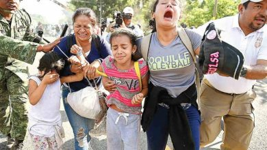 Photo of Cortan paso a 2 mil migrantes; chocan con Guardia Nacional