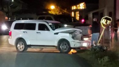Photo of Texano provoca accidente en el centro de Morelos, menor resulta lesionada