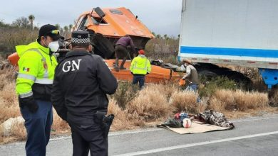 Photo of Se accidenta trailero Queretano en la Cuesta de las Codornices